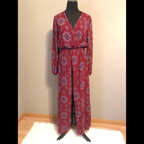 Rue21 Dresses & Skirts - Printed Maxi Romper
